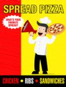 spread pizza